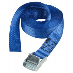 Masterlock set of 2 lashing straps 2,50m - colour : blue