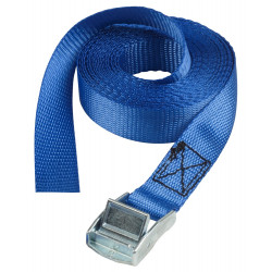 Masterlock Lashing straps 5m - colour : blue