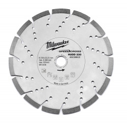 Milwaukee Accessoires SpeedCross diamantslijpschijf HUDD 230