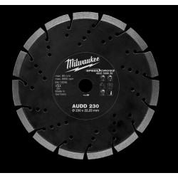 Milwaukee Accessoires SpeedCross diamantslijpschijf AUDD 230