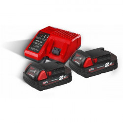 Milwaukee M18 NRG-202 - M18 B2 DUO Pack 18V 2.0Ah