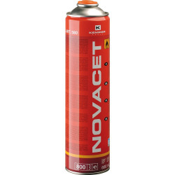 Gys 600mL CARTRIDGE (330gr gas) NOVACET GAS