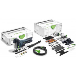 Festool Pendeldecoupeerzaag CARVEX PS 420 EBQ-Set
