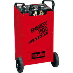 Telwin Mobiele acculader met startbooster Energy 1500 start