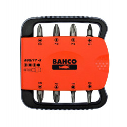 Bahco bits set 17pcs pz,ph,torx,hex | 59S/17-3