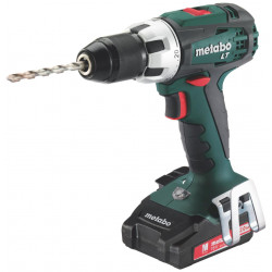 Metabo BS 18 LT Compact accuboormachine | 18v 2.0Ah Li-ion