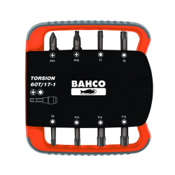 Bahco bits set 17pcs torsion | 60T/17-1