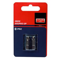 Bahco x2 bit ph3 25mm 1-4 rvs | 65I/PH3-2P