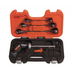 Bahco pistool greep ratelschdraaier set | 808050P-25
