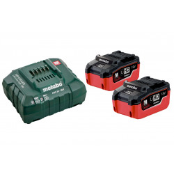 Metabo Basis-Set 2 x LiHD 5.5 Ah accu's | Pick+Mix