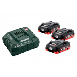 Metabo Basis-Set 3 x LiHD 4.0 Ah accu's | Pick+Mix