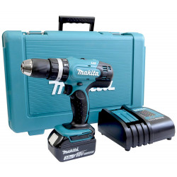 Makita DHP453SF 18 V Li-ion klopboormachine in koffer | 1x 3.0Ah accu