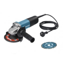 Makita 9558HN | 125mm haakse slijper 2