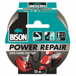 Bison Power Repair Tape Grijs Rol 10M*6 Nlfr - 6311855