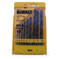DeWalt Set HSS-G 10-dlg. 1-10mm