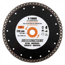 Perfectmate EPT0612 X-Turbo Diamantschijf | Beton en universeel | 125 mm