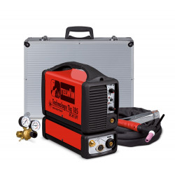 Telwin TECHNOLOGY TIG 185 DC 230V KIT ALU CASE Lasapparaat TIG