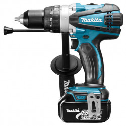 Makita DHP458RFJ Heavy Duty accu klopboormachine | 18v 3.0Ah Li-ion