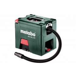 Metabo AS 18 L PC Accu-alleszuiger | 18v 5.2Ah Li-ion