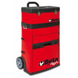 Beta C41H Trolley, twee-delig Rood