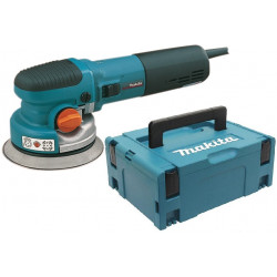 Makita BO6040J Excenter schuurmachine| 150mm 750w | in M-box systainer