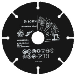 Bosch Accessoires Slijpschijf Carbide Multi Wheel , 125