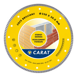 Carat Carat Eternit Brilliant Ø230X25.40Mm, Type Cdce