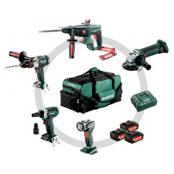 Metabo Combo Set Bouw 5.1 - Bouw en renovatie - 5 machines