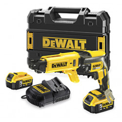 DeWalt DCF620P2K 18V XR Brushless bandschroefmachine 5,0 Ah set