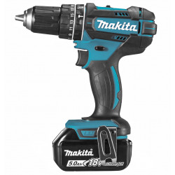 Makita DHP482RTJ 18V (Klop)boor-schroefmachine 5.0Ah (Accuboormachine) 1