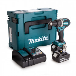 Makita DHP484RTJ Accuklopboormachine 18v 5,0ah Li-ion