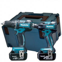 Makita DLX2000MJ | DDF480 + DTD129 | 18v 4.0Ah Li-ion in M-box