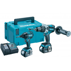 Makita DLX2040TJ | DHP481 + DTD129 | 18v 5.0Ah Li-ion in M-box