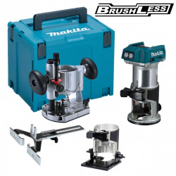 Makita DRT50ZJX2 Accu Freesmachine 18v Li-ion | zonder accu's en lader in M-box
