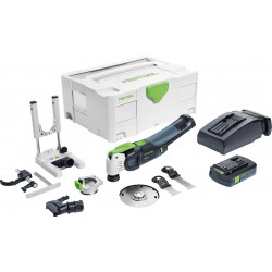 Festool OSC 18 Li 3,1 E-Set VECTURO Oscillerende Accu Multitool VECTURO