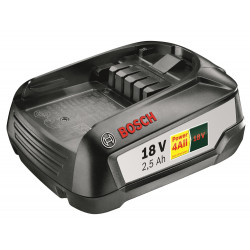 Bosch Accessoires Accu 18 Volt 2.5 Ah Li-Ion Power 4All voor diverse machines