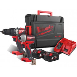 Milwaukee M18 BLPP2A2-502X Fuel power Pack 18V | M18 BLPD2 + M18 BLID2