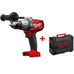 Milwaukee M18 FPD-0X Koolborstelloze Accu Klopboormachine |  zonder accu's en lader in HD-Box
