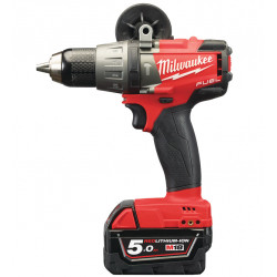 Milwaukee M18 FPD-502C Koolborstelloze Accu Klopboormachine 18v 5,0Ah