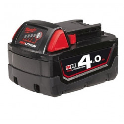 Milwaukee M18 B4 Accu (18 V / 4.0 Ah Li-Ion)