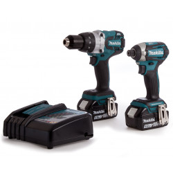Makita DLX2176TJ | DHP481 + DTD154 | 18v 5.0Ah Li-ion in M-box