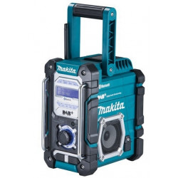 Makita DMR112 Bouwradio DAB/DAB+ & Bluetooth (Accu Radio-acculader)