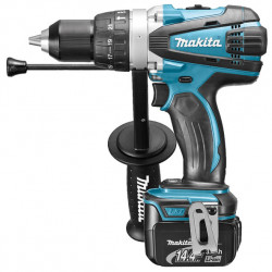 Makita DHP448RMJ Heavy Duty accu klopboormachine | 14,4v 4.0Ah Li-ion