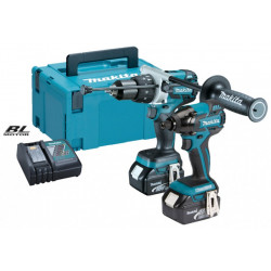 Makita DLX2040MJ | DHP481 + DTD129 | 18v 4.0Ah Li-ion in M-box