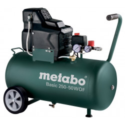 Metabo Basic 250-50 W OF Olievrije Compressor | 220 l/min