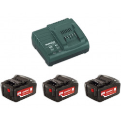 Metabo Basis-set 3x 18 volt 4.0Ah accu's | Pick+Mix