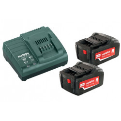 Metabo Basis-set 2x 18 volt 4.0Ah accu's | Pick+Mix