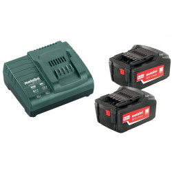 Metabo Basis-set 2x 18 volt 5.2Ah accu's | Pick+Mix