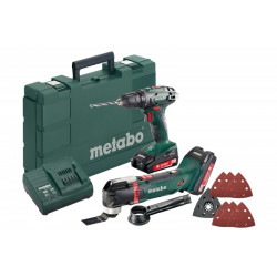 Metabo BS 18 accuboormachine en multitool MT18 Combo set 2.6.1