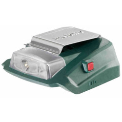 Metabo PA 14,4-18 LED-USB accu-power adapter